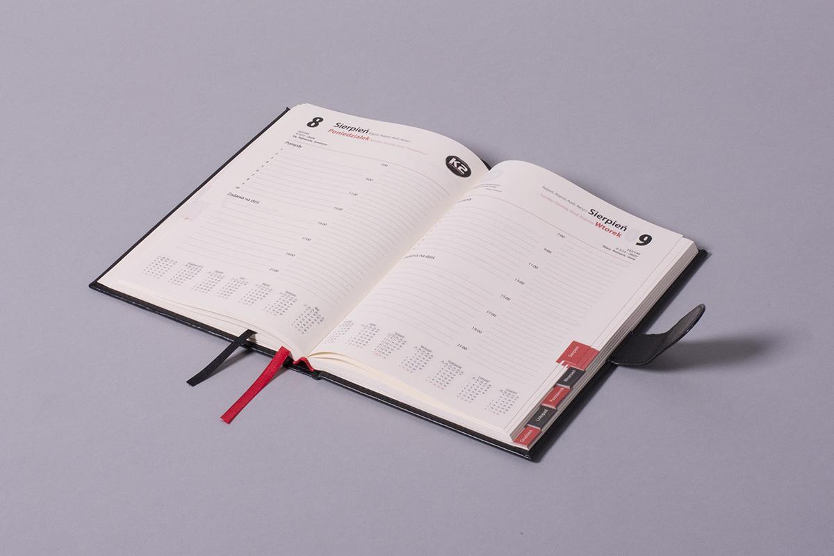 kalendarze indywidualne A5